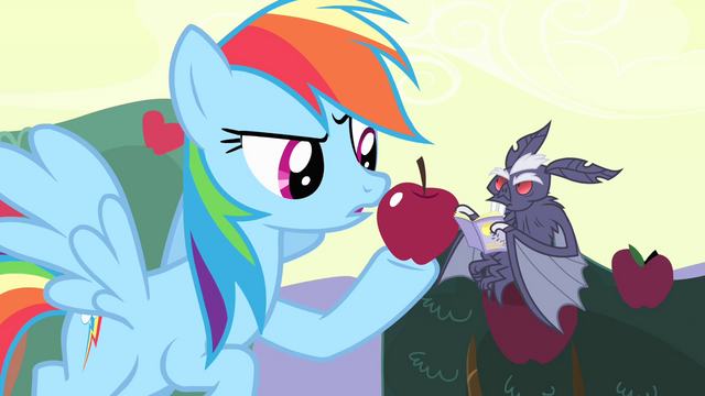 File:Rainbow Dash offering apple to vampire bat S4E07.png