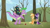 Spike stealing apples S2E10