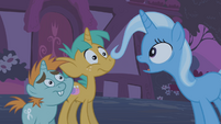 """Trixie """"out of your little pony minds"""" S1E06"""