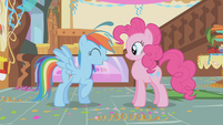 "Rainbow Dash ""no hard feelings?"" S1E05"