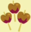 File:Three caramel apples cutie mark crop.png