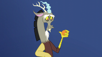 Discord smiling again S5E22