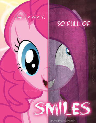 File:FANMADE 2 sides of Pinkie Pie.jpg