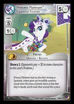 Princess Platinum, Equestrian Founder card MLP CCG