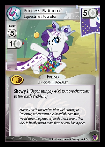 File:Princess Platinum, Equestrian Founder card MLP CCG.jpg