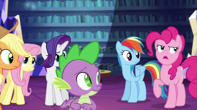 """File:Pinkie Pie """"duh!"""" EG2.png"""