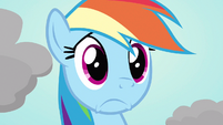 Rainbow Dash lukewarm reaction S3E13