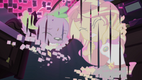 Spike and Sunset Shimmer getting erased EG4