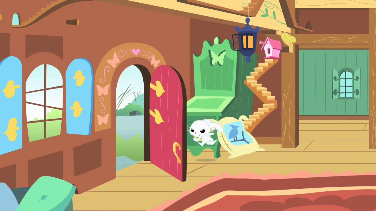 Image angel slamming the door my little for My little magic door