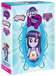 My Little Pony Equestria Girls Three Movie Gift Set side view