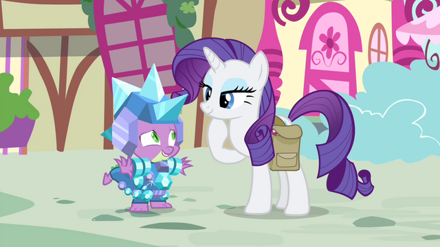 File:Spike 'accepts' Rarity's gift S4E23.png