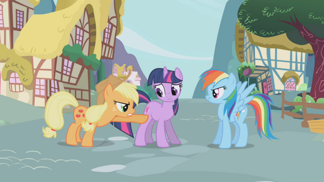 "File:Applejack ""I was followin' this one"" S1E03.png"