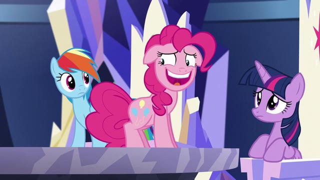 "File:Pinkie ""...Pinkie Sense?"" S5E19.png"