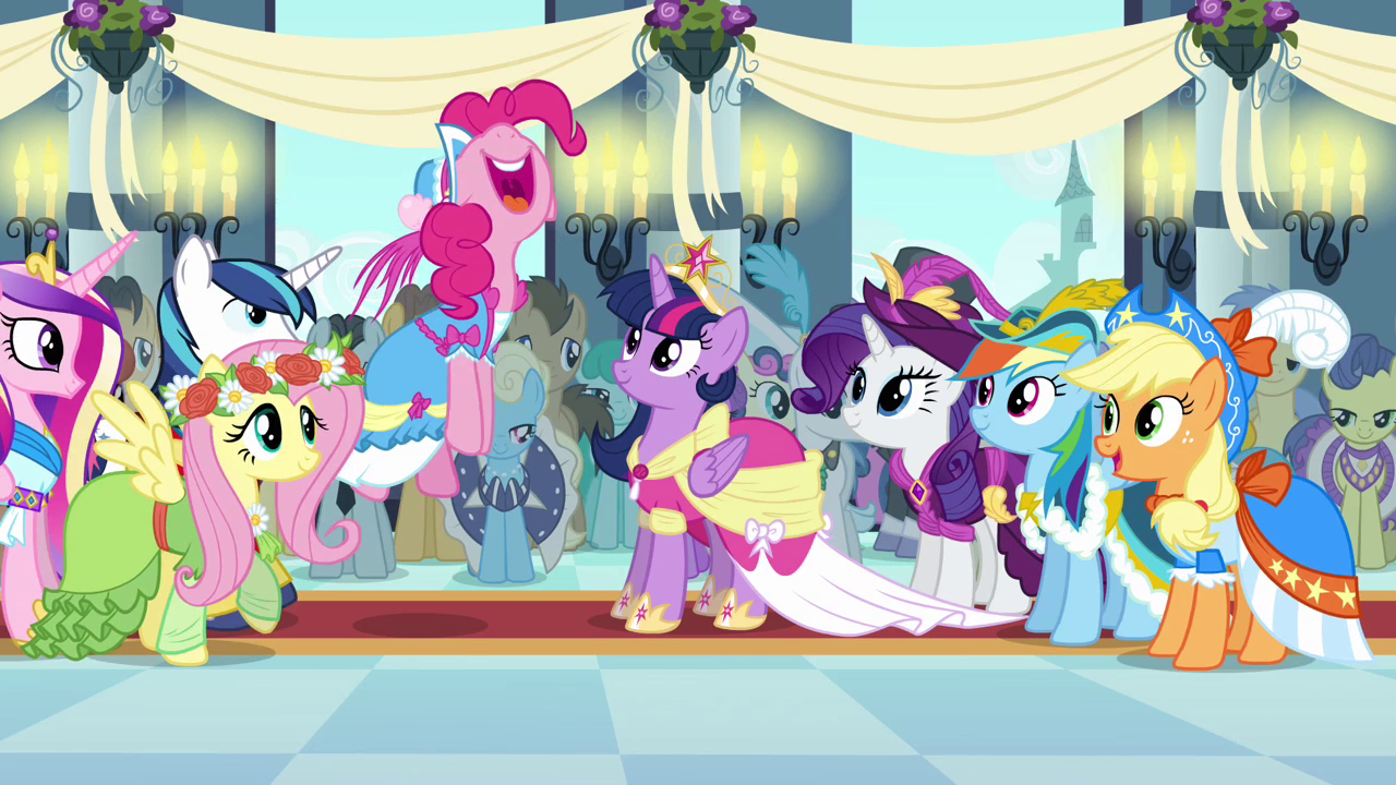 My little pony friendship is magic coloring pages best night ever - Pinkie Pie Best Coronation Day Ever