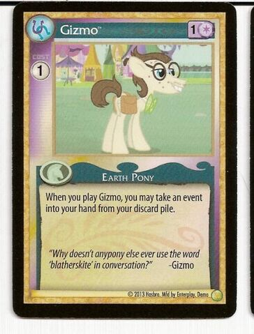 File:MLP CCG demo card Gizmo.jpg