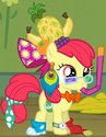 Apple Bloom bizarre outfit S3E4