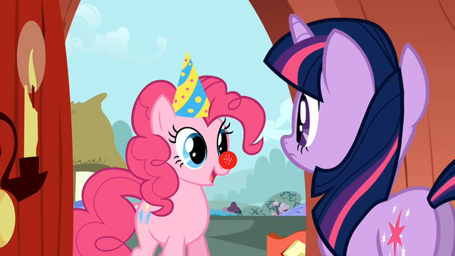 File:Pinkie Pie invites Twilight S1E25.png