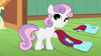 "Sweetie Belle ""and capes!"" S01E17"