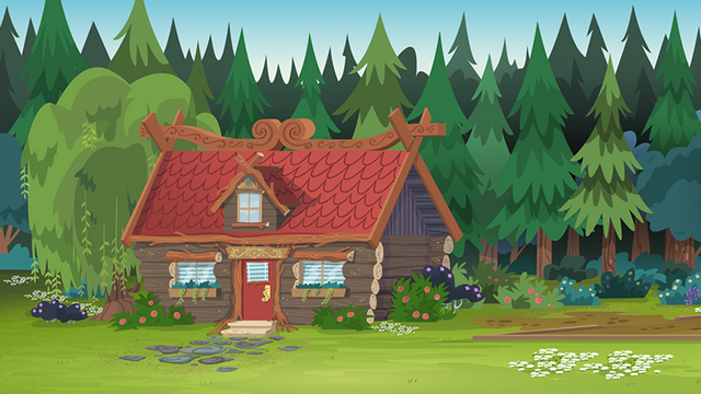 File:Legend of Everfree background asset - red cabin.png