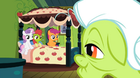 Apple Bloom pretending to be sick S2E12