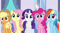 Main 5 hearing the story of Sunset Shimmer EG