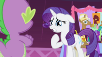 "Rarity ""possibly have that I don't?!"" S4E13"