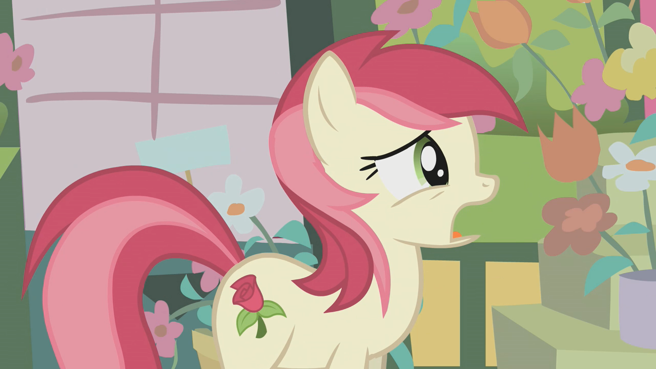 Fluttershy (The Rose Of Life) - grin by j5a4 on DeviantArt