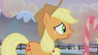 Applejack hears Maud Pie's voice S5E20