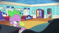 CMC find Spike in the room S4E24