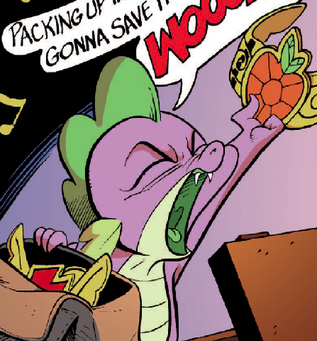 File:Spike with Comic Elements of Harmony.png