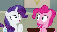"Rarity ""I will go out and bring the crowd"" S6E12"