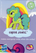 Wave 9 Green Jewel collector card