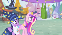 "Cadance ""Blue flu?"" S4E11"