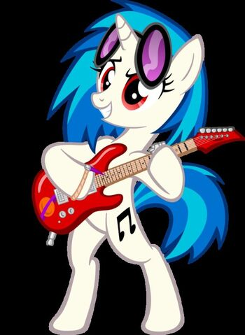 File:FANMADE DJ Pon3 with guitar.jpg