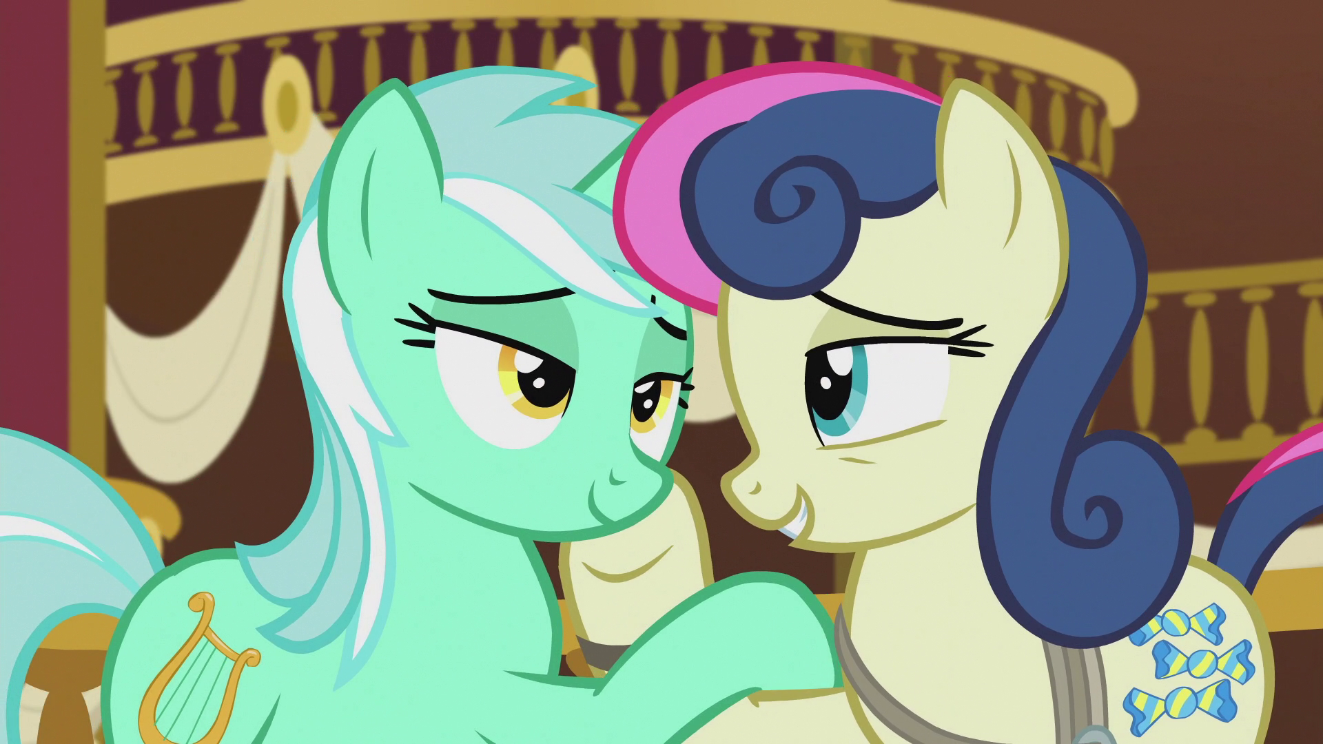 Image Lyra And Sweetie Drops Quot You Re My Very Best Friend