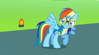 Rainbow Dash's injured wing S3E7