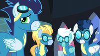 Wonderbolts see Rarity S5E15