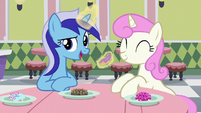 "Minuette ""when she heard you were the Princess of Friendship!"" S5E12"