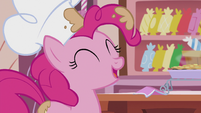 "Pinkie ""we're ready to start prepping the second layer!"" S5E8"