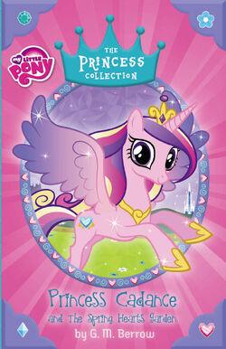 Princess Cadance and the Spring Hearts Garden cover
