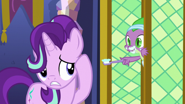 "File:Spike ""next door on the left!"" S6E1.png"