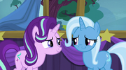 Trixie gives a touched half-smile S6E6.png