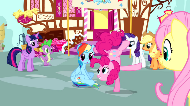 File:Pinkie Pie standing on one hoof S4E12.png