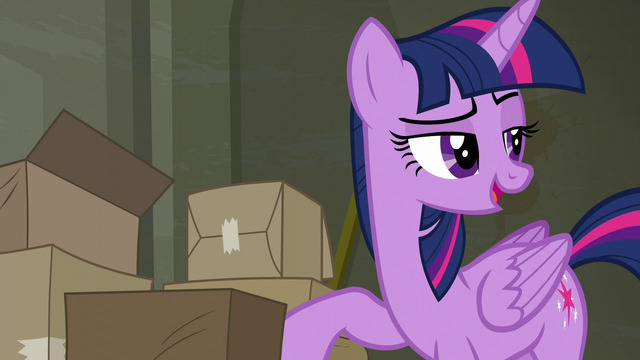"File:Twilight ""pretty sure I know somepony"" S6E9.png"