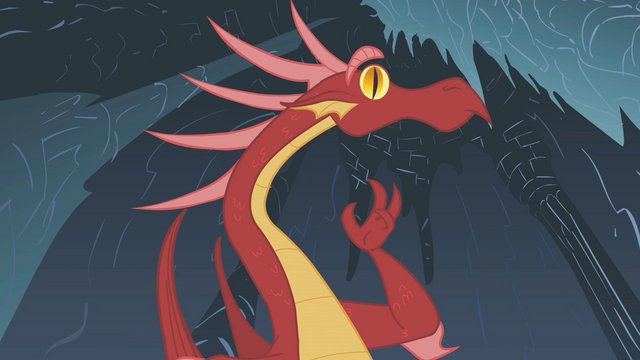 File:Dragon catches wise to Rarity's ploy S1E07.png