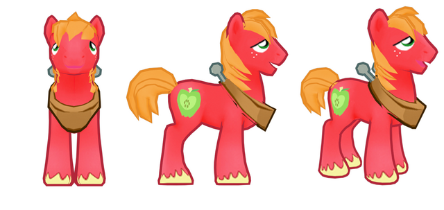 File:My little pony mobile game Big Mac Model.png