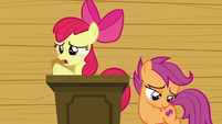 "Apple Bloom ""is that all we're gonna do now?"" S6E4"
