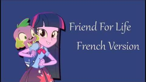 Friend for life - French Version