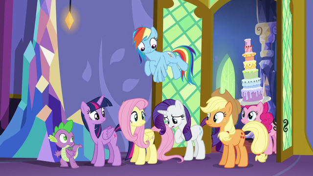 "File:Rarity ""I couldn't help myself!"" S5E3.png"