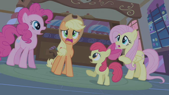 "File:Applejack ""the Everfree Forest!"" S1E09.png"